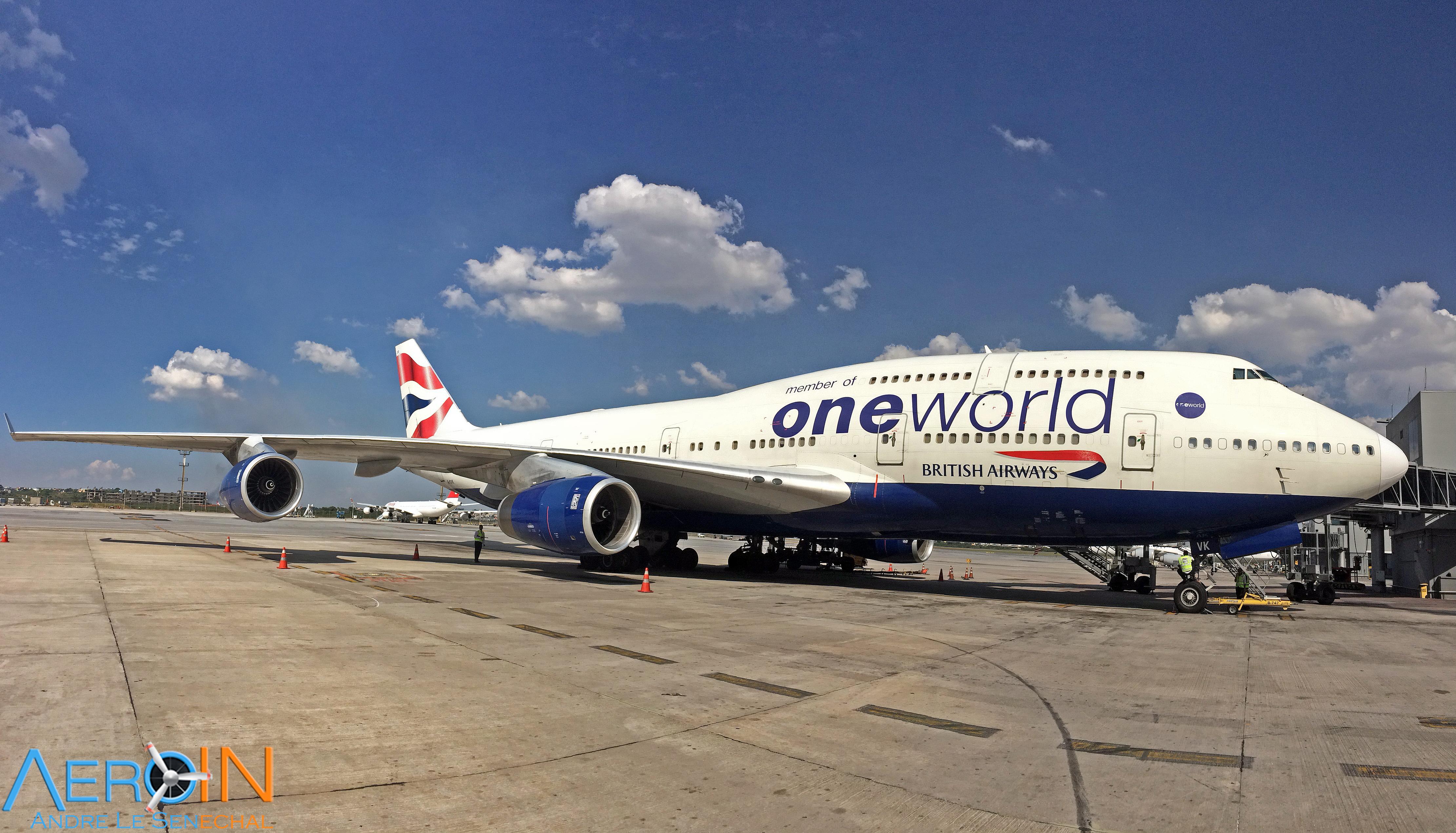 BAW 747 BRITISH