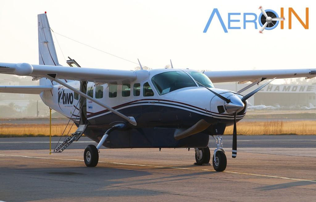 Caravan C208 208 Cessna TWO Voa Minas