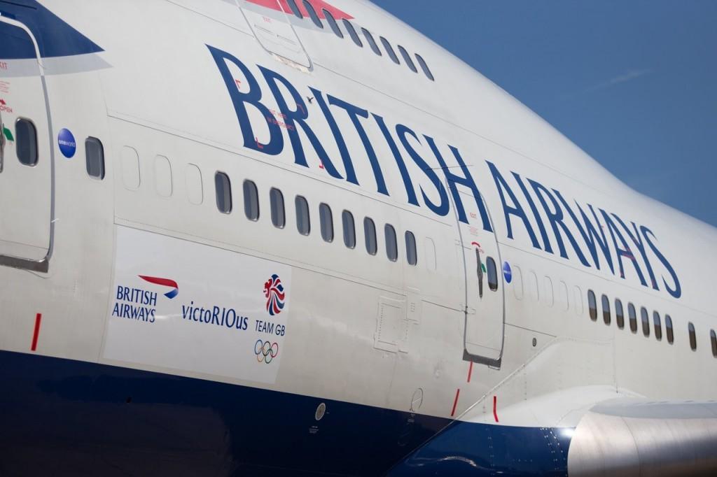 Avião Boeing 747 British Airways
