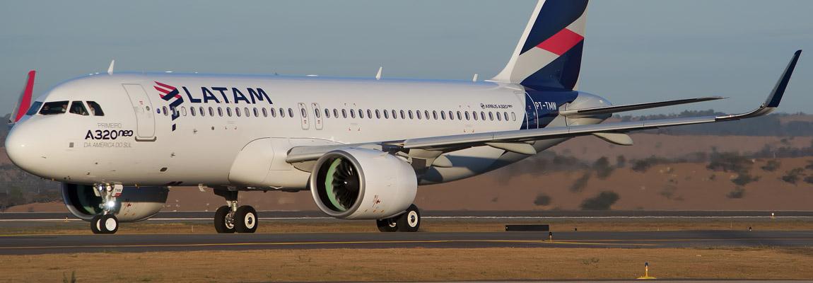 1º A320neo das Américas