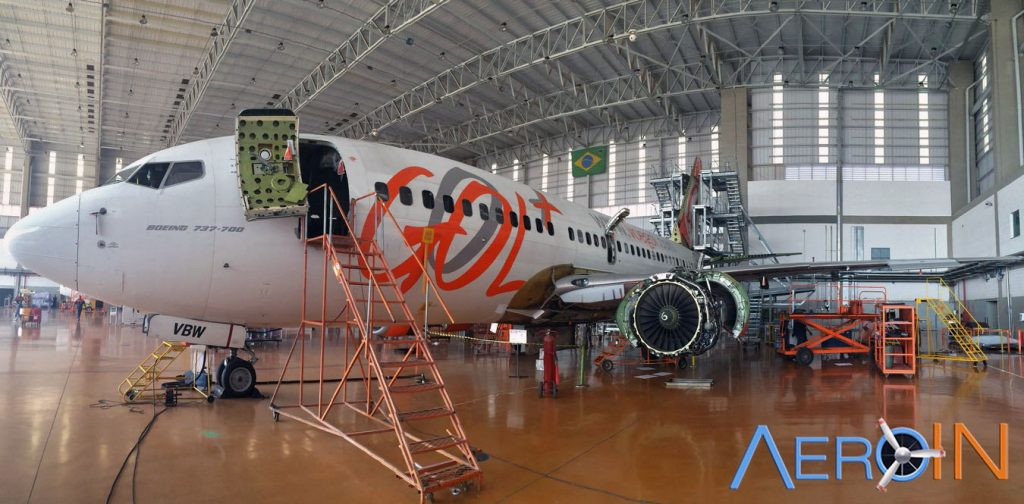 PR-VBW realiza Check-C no hangar 1.