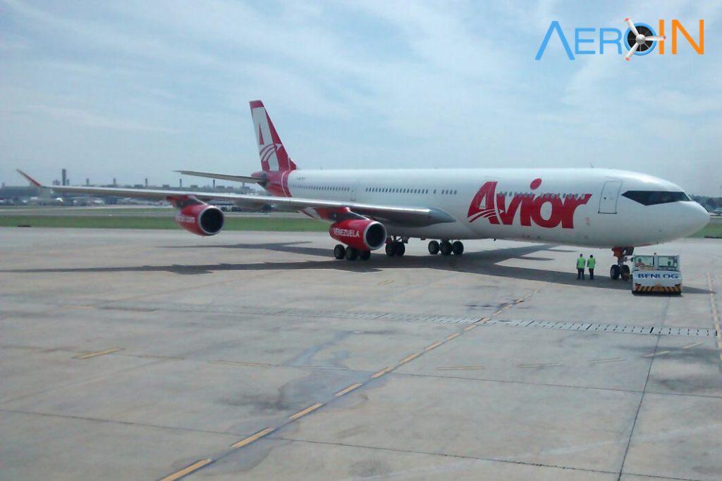 A340-300 Avior Venezuela