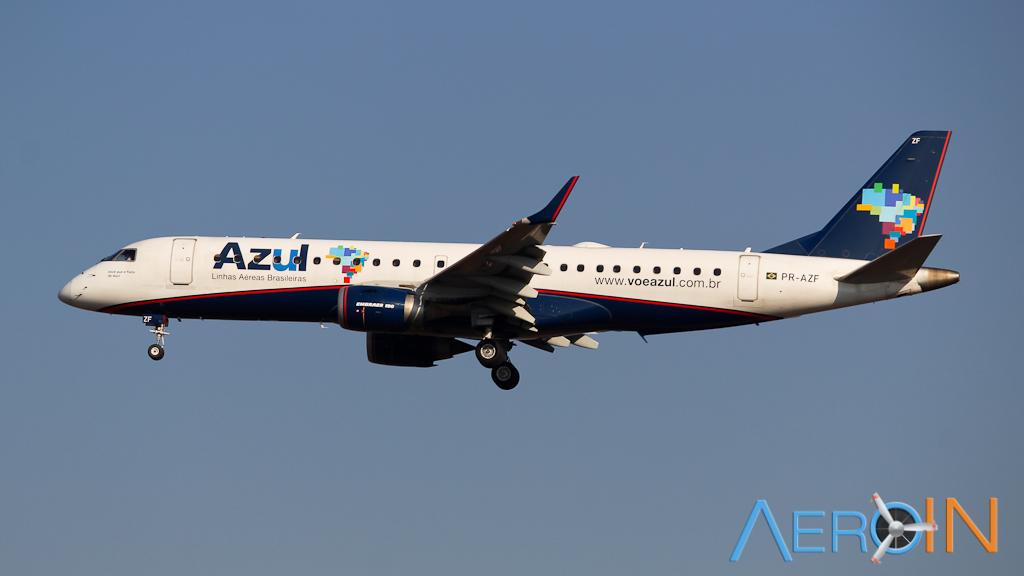 Azul Embraer 190 160905
