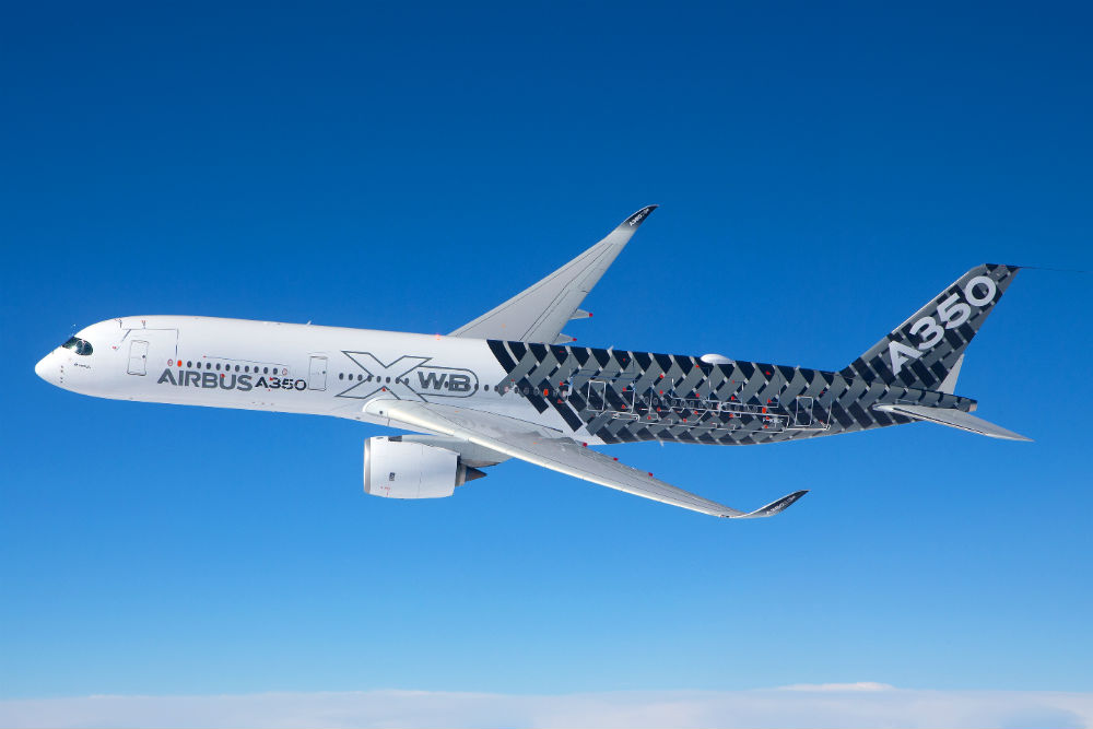 Avião Airbus A350