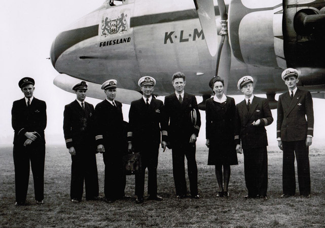 Voo inaugural - Buenos Aires 1946