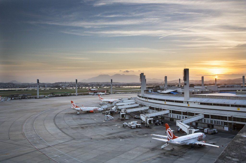 Aeroporto RIO Galeão Pátio