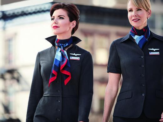 American Airlines Lan 231 A Novos Uniformes Para Mais De 70