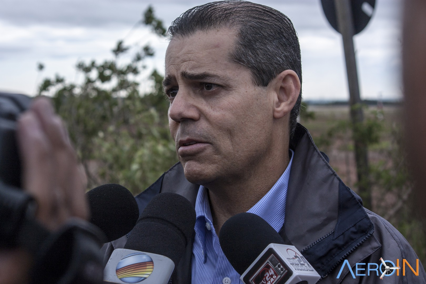 Marcelo Mota, diretor de operações de Viracopos, em entrevista na manhã de hoje.