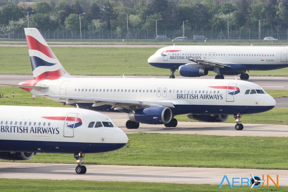 Avião Airbus A320 British Airways