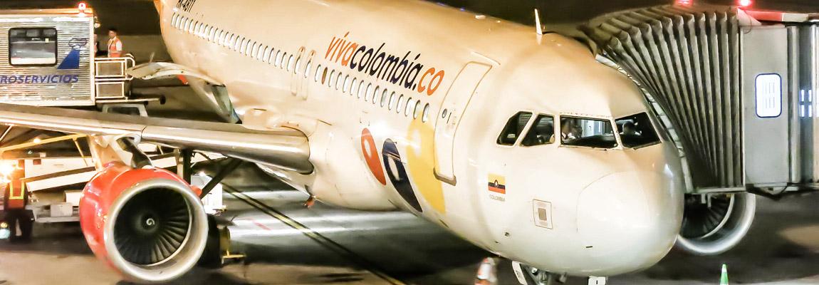 Voando na Viva Colombia