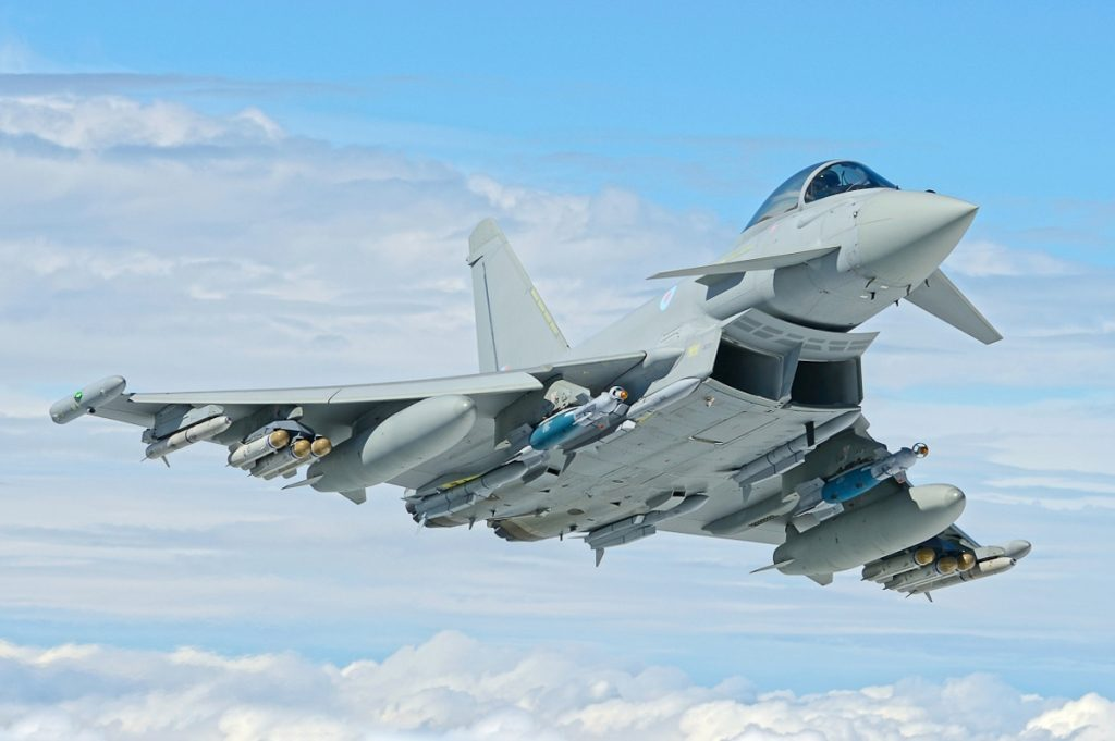 Avião Caça Eurofighter