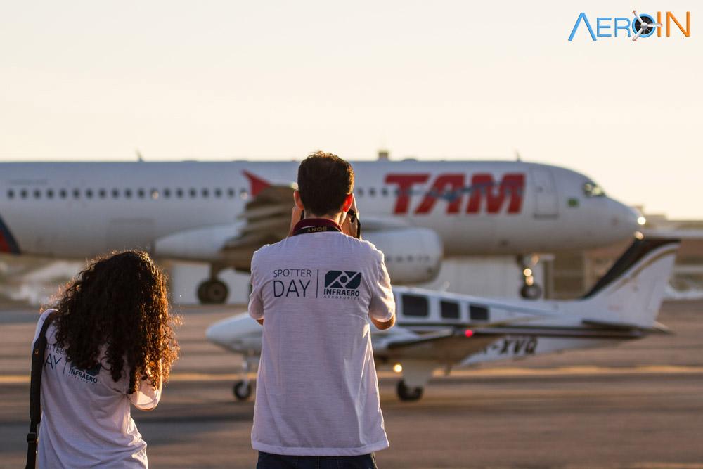 aeroporto avião Spotter Day fotografia