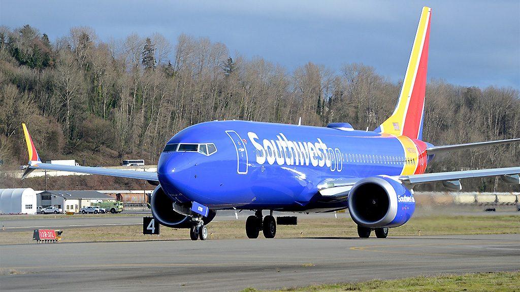 Boeing 737 Max da Southwest