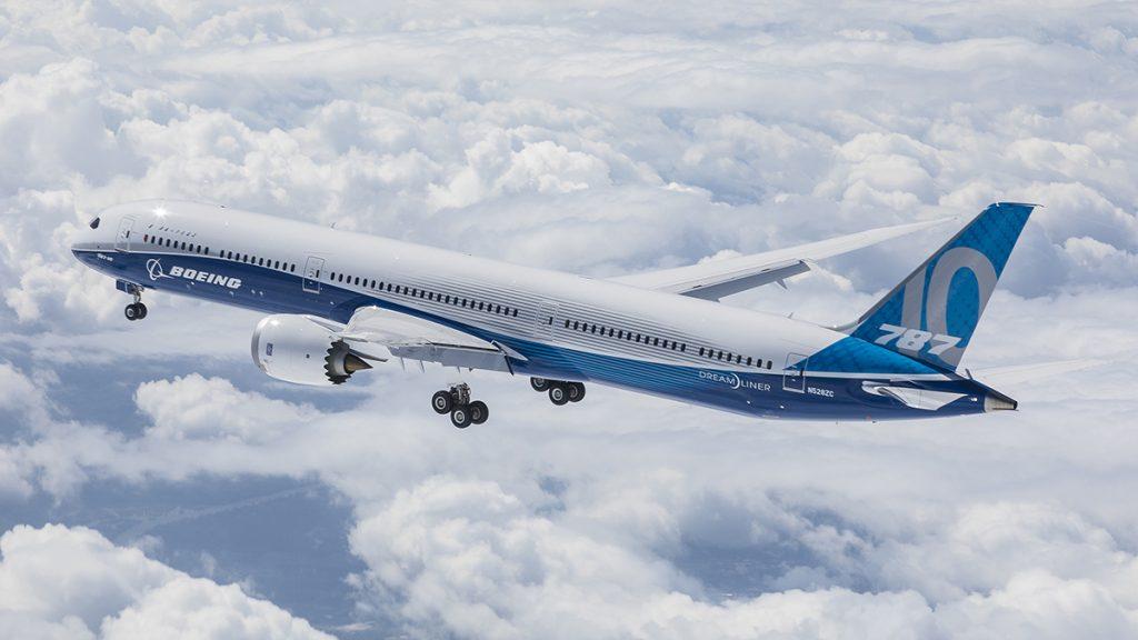 Avião Boeing 787-10