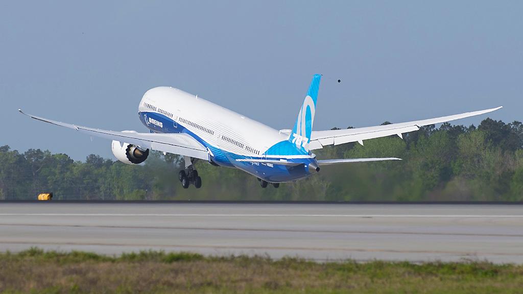 avião Boeing 787 Dreamliners