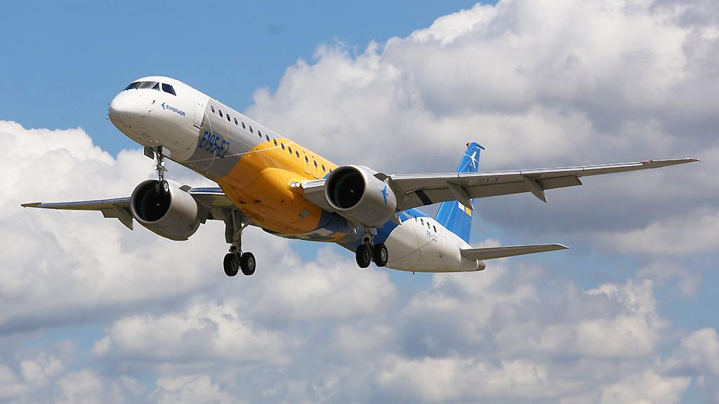 Avião Embraer E195-E2