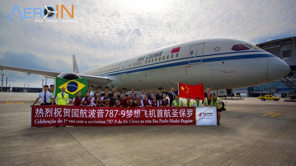 Air China Coronavírus