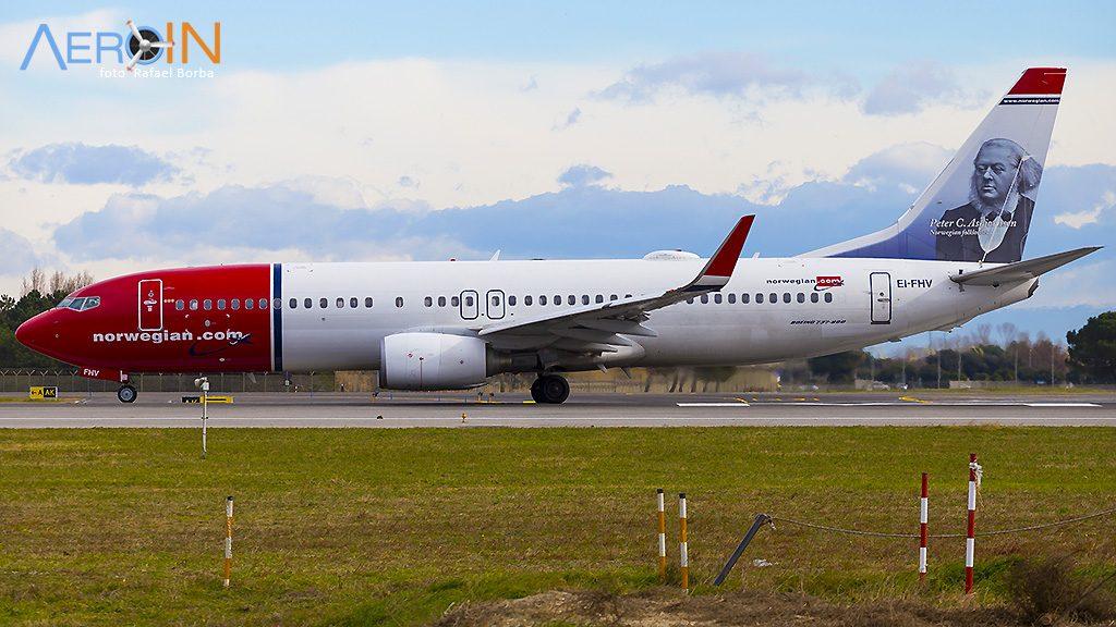 Avião Boeing 737 Norwegian