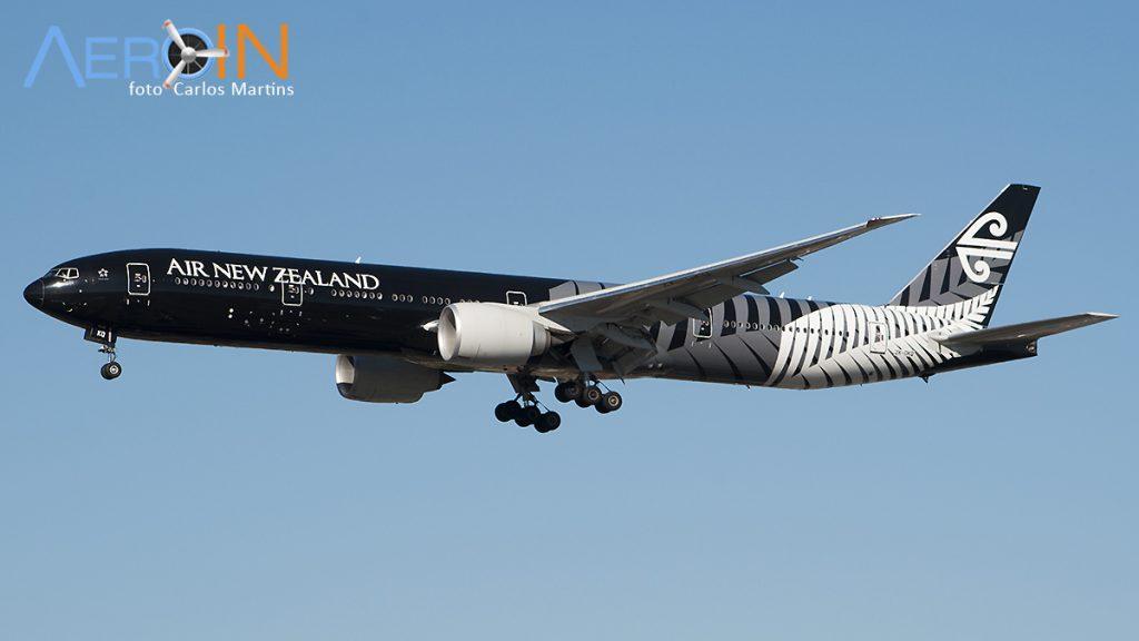 Avião Boeing 777 Air New Zealand