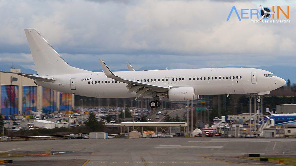 Avião Boeing 737-800