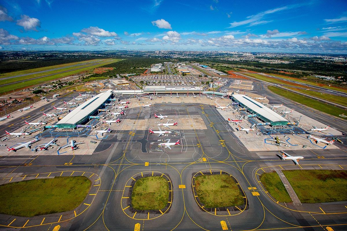 Aeroporto Brasília Vista Aérea