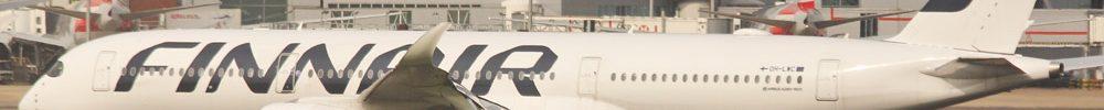 avião Airbus A350 Finnair