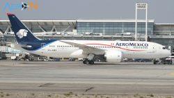 Avião Boeing 787-8 Aeromexico