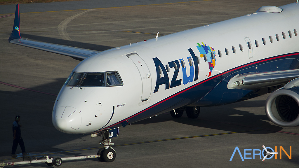 Embraer E-Jet E195 Azul Sorriso