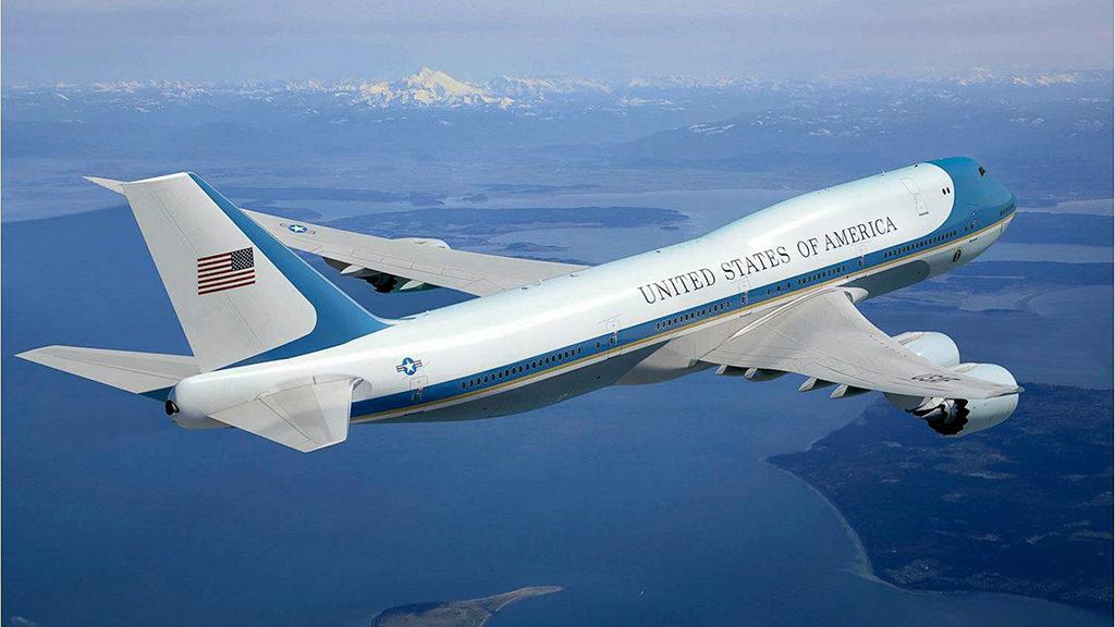 Avião Boeing 747-8I VC-25B Air Force One