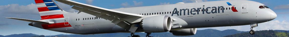 Avião Boeing 787-9 Dreamliner American Airlines