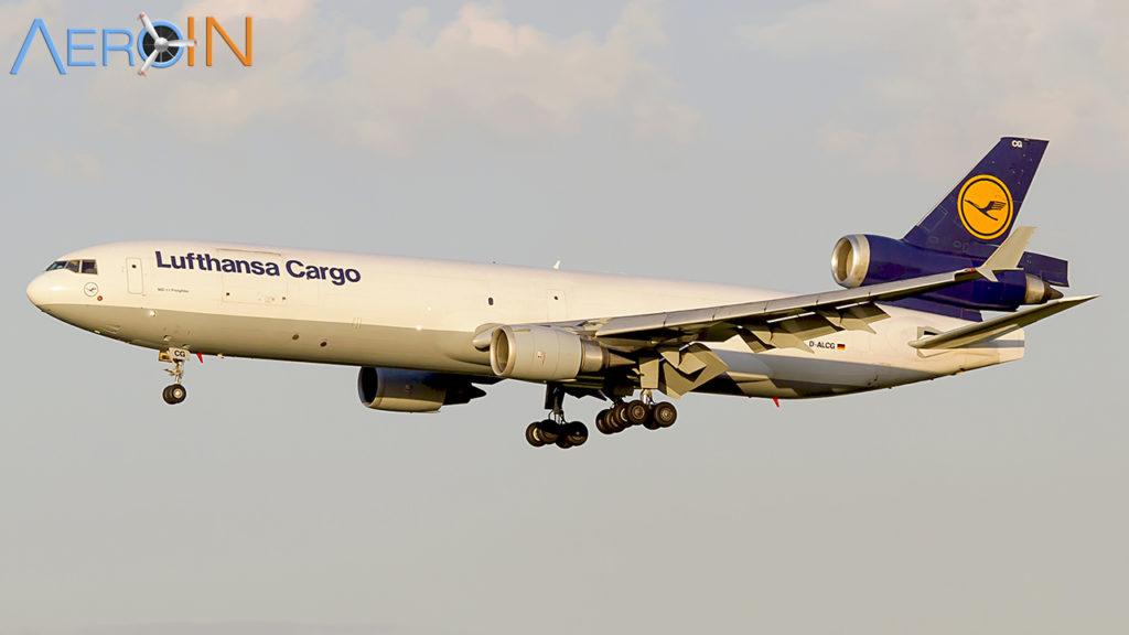 Avião McDonnell Douglas MD-11 F Lufthansa Cargo