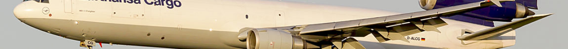 Avião McDonnell Douglas MD-11F Lufthansa Cargo