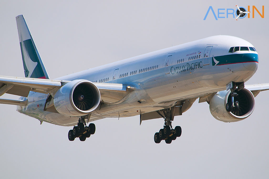 Avião Boeing 777 Cathay Pacific