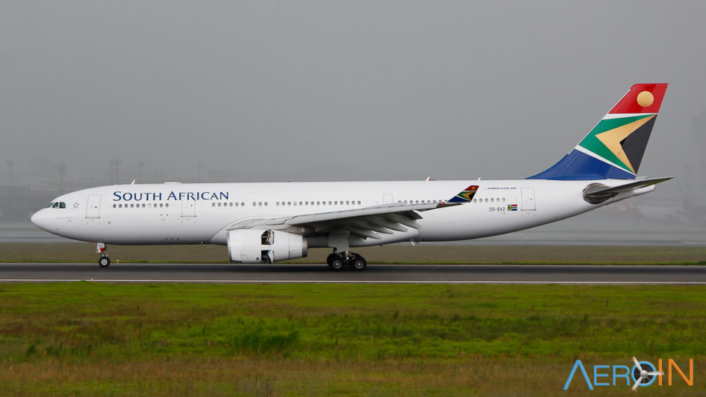 Avião Airbus A330-200 South African Airways