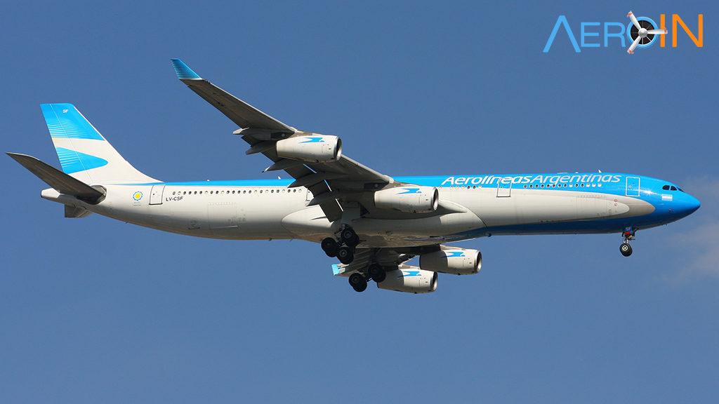 Avião Airbus A340-300 Aerolíneas Argentinas