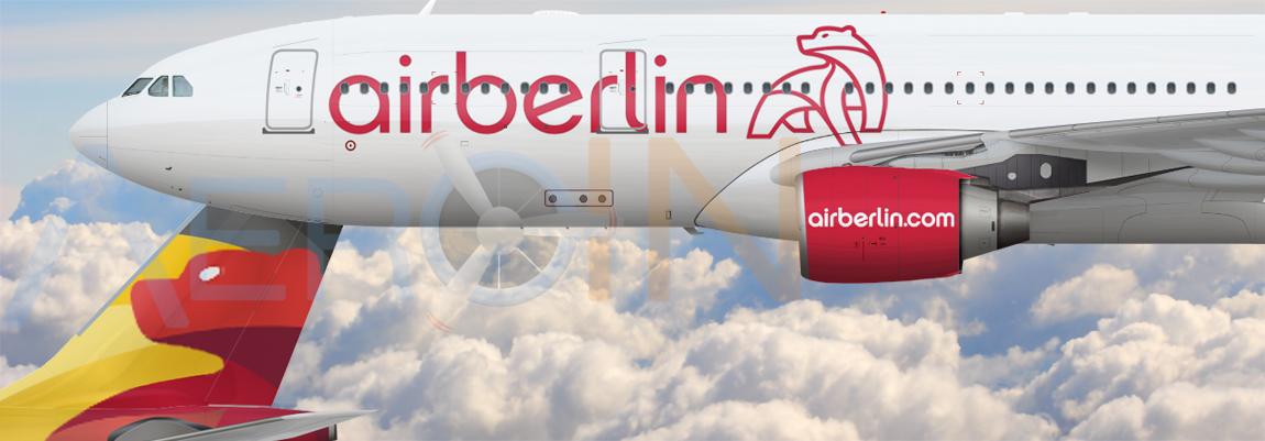 Nova pintura da Air Berlin