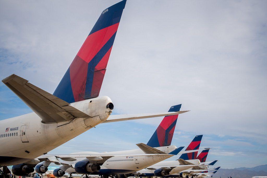Boeing 747 Delta Skyteam