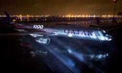 Avião Airbus A350-1000 Qatar Airways