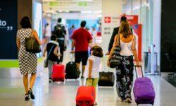Passageiros Embarque Aeroporto