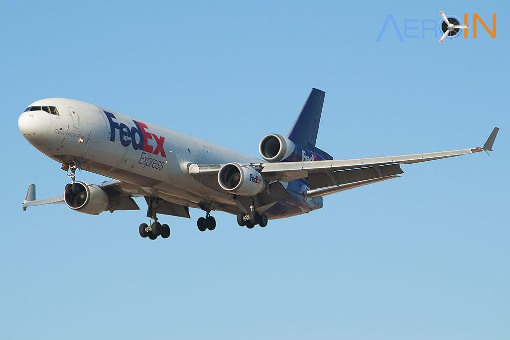 Avião MD-11F FedEx
