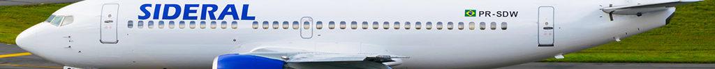 Avião Boeing 737-300 Sideral