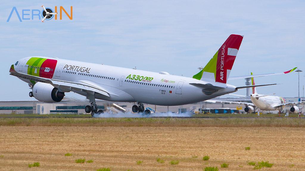 Avião A330neo da TAP