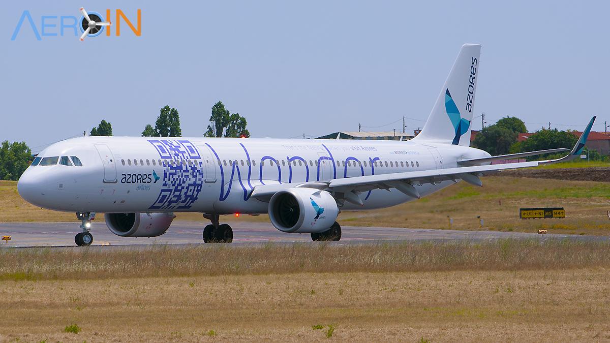 Avião Airbus A321neoLR SATA Azores