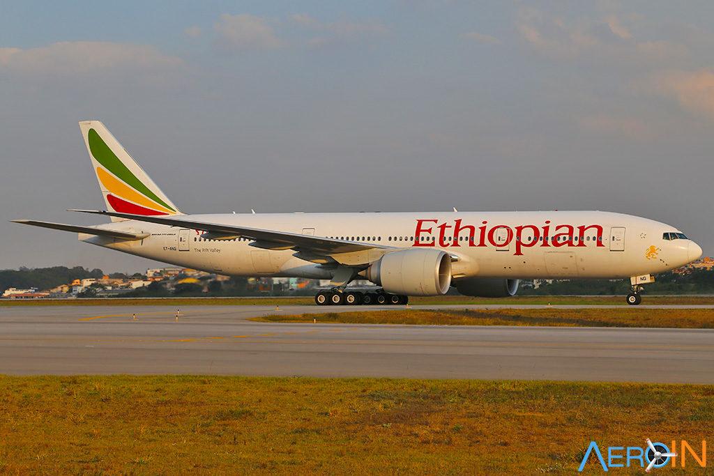 Boeing 777 Ethiopian Airlines