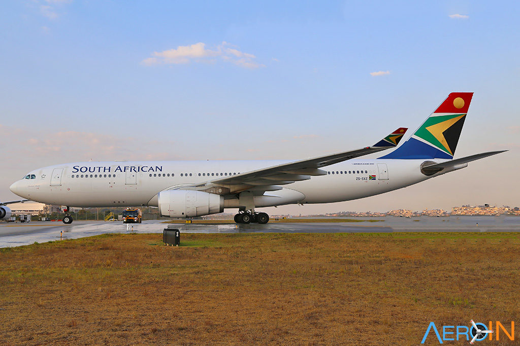 Airbus A330 South African