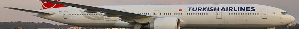 Avião Boeing 777-300 Turkish Airlines