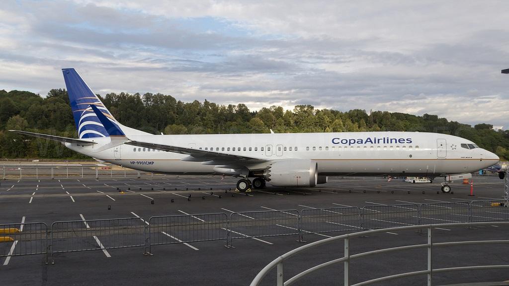 avião Boeing 737 MAX 9 da Copa Airlines
