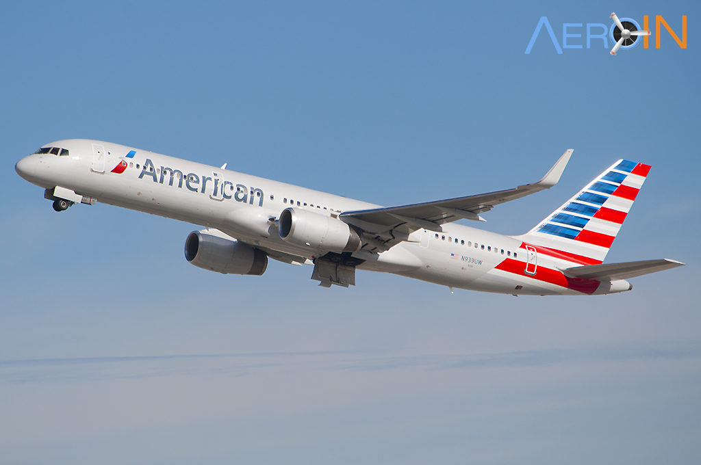 Avião Boeing 757 American Airlines