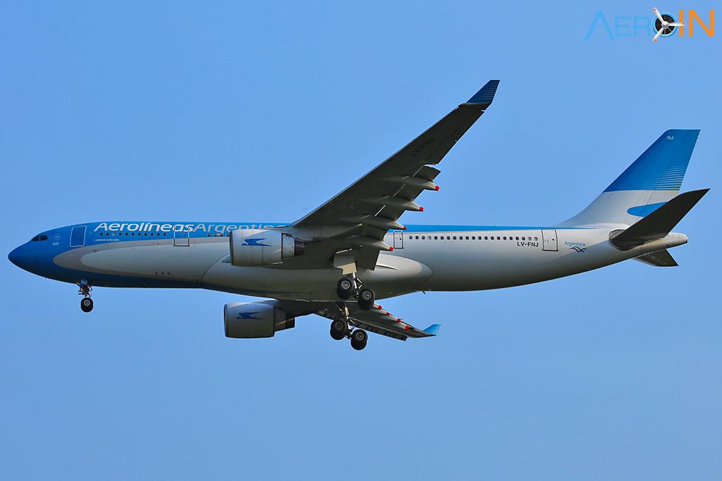 Avião Airbus A330 Aerolíneas Argentinas