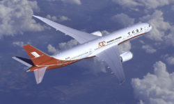 Avião Boeing 787-9 Dreamliner da Shanghai Airlines